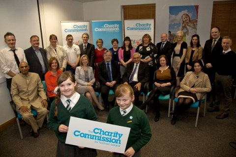 Charity registration launch - group shot