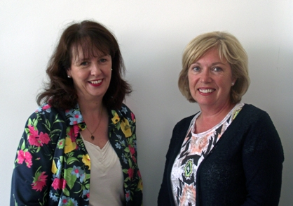 New Commissioners, Brenda Maitland and Geraldine Donaghy